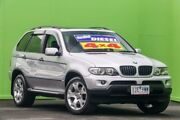 2004 BMW X5 E53 MY04 d Steptronic Silver 6 Speed Sports Automatic Wagon Ringwood East Maroondah Area Preview