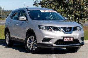 2016 Nissan X-Trail T32 ST X-tronic 2WD Brilliant Silver 7 Speed Constant Variable Wagon Springwood Logan Area Preview