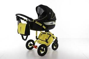 Pram , stroller, footmuff,umbrella, carrycot  -  Koyo sportime