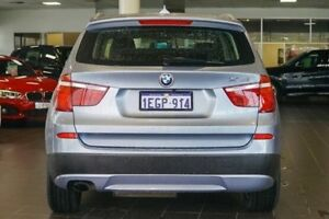 2013 BMW X3 F25 MY0413 xDrive20d Steptronic Blue 8 Speed Automatic Wagon