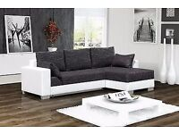 Brand new corner sofa bed -two storages -fast delivery