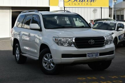 2010 Toyota Landcruiser UZJ200R MY10 60th Anniversary Crystal Pearl 5 Speed Sports Automatic Wagon