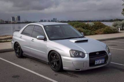 Clean Subaru WRX Sedan (Auto)  Blobeye / Peanut eye Kelmscott Armadale Area Preview