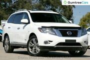 2016 Nissan Pathfinder R52 MY16 Ti X-tronic 4WD White 1 Speed Constant Variable Wagon Rockingham Rockingham Area Preview