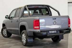2011 Volkswagen Amarok 2H TDI400 4Mot Trendline Grey 6 Speed Manual Utility