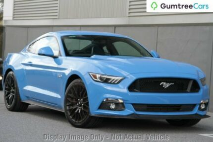 2017 Ford Mustang FM MY17 GT Fastback Grabber Blue 6 Speed Manual Fastback