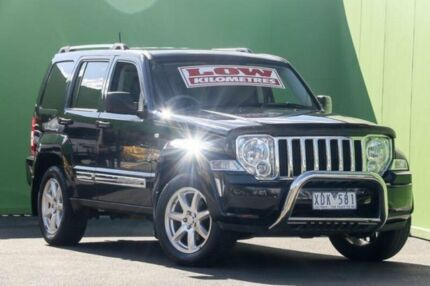 2009 Jeep Cherokee KK MY09 Limited Black 4 Speed Automatic Wagon