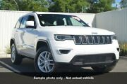 2016 Jeep Grand Cherokee WK MY17 Laredo 4x2 White 8 Speed Sports Automatic Wagon Mount Gravatt Brisbane South East Preview