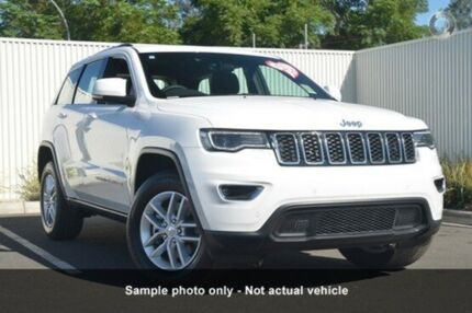 2016 Jeep Grand Cherokee WK MY17 Laredo 4x2 White 8 Speed Sports Automatic Wagon Mount Gravatt Brisbane South East Preview