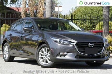 2017 Mazda 3 BN MY17 Maxx Machine Grey 6 Speed Automatic Hatchback