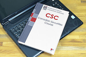 CSC Canadian Securities Course Textbook 2019 Study Kit
