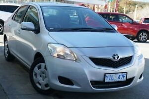 2012 Toyota Yaris NCP93R MY11 YRS Silver 4 Speed Automatic Sedan Pearce Woden Valley Preview