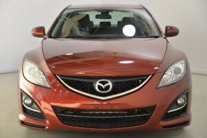 2011 Mazda 6 GH1052 MY10 Classic Red 5 Speed Sports Automatic Sedan