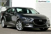 2017 Mazda 3 BN MY17 SP25 Machine Grey 6 Speed Automatic Sedan Gymea Sutherland Area Preview