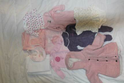 Assorted Baby Clothing to Size 2. other items also