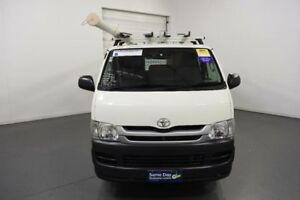 2010 Toyota Hiace KDH201R MY07 Upgrade LWB White 4 Speed Automatic Van