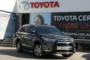 2014 Toyota Kluger GSU55R Grande (4x4) Grey 6 Speed Automatic Wagon