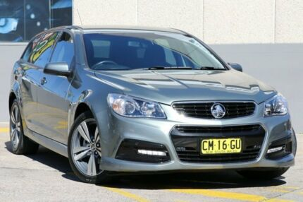 2014 Holden Commodore VF MY15 SV6 Grey 6 Speed Automatic Sportswagon