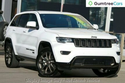 2016 Jeep Grand Cherokee WK MY16 75th Anniversary Bright White 8 Speed Sports Automatic Wagon