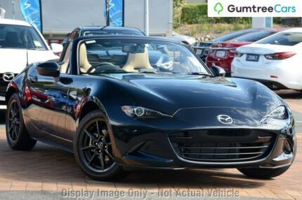 2017 Mazda MX-5 ND (K) MY17 Roadster GT Jet Black 6 Speed Automatic Convertible