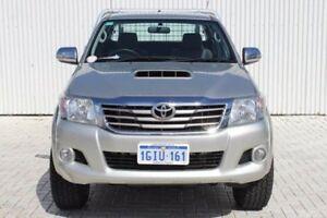 2013 Toyota Hilux KUN26R MY12 SR5 Xtra Cab Silver 5 Speed Manual Utility