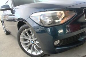 2013 BMW 118d F20 MY0713 Steptronic Blue 8 Speed Sports Automatic Hatchback