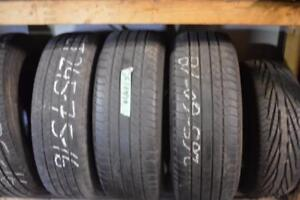265 60 18  pair of 2 michelin tires.