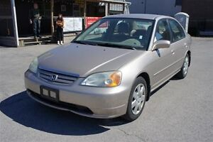 2002 Honda Civic LX-G,One OWNER ONLY,