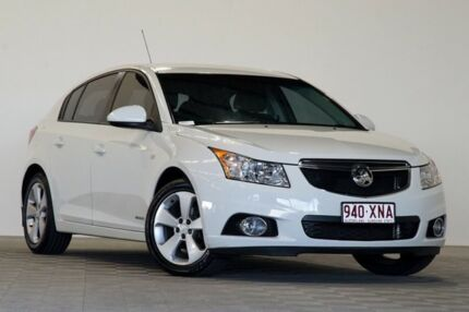 2013 Holden Cruze JH MY14 Equipe White 6 Speed Automatic Hatchback