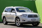 2009 Toyota Kluger GSU45R Grande AWD White 5 Speed Sports Automatic Wagon Ringwood East Maroondah Area Preview