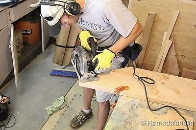 Caption: Circular saws are easy to use and are incredibly versatile. (image: Remodelaholic)