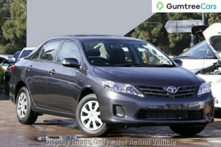 2012 Toyota Corolla ZRE152R MY11 Ascent Grey 4 Speed Automatic Sedan Ringwood East Maroondah Area Preview