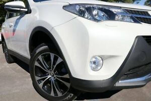 2014 Toyota RAV4 ASA44R MY14 Cruiser AWD White 6 Speed Sports Automatic Wagon