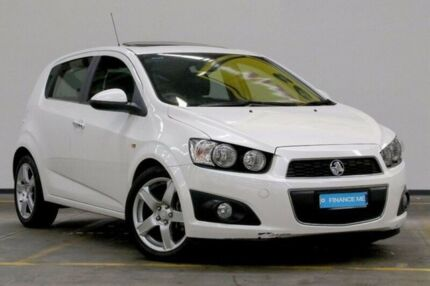 2012 Holden Barina TM MY13 CDX White 6 Speed Automatic Hatchback Brooklyn Brimbank Area Preview