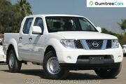 2012 Nissan Navara D40 S7 MY12 RX White 5 Speed Automatic Utility Osborne Park Stirling Area Preview