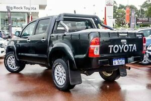 2013 Toyota Hilux GGN25R MY12 SR5 Double Cab Black 5 Speed Automatic Utility Westminster Stirling Area Preview