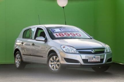 2007 Holden Astra AH MY07 CD Silver 4 Speed Automatic Hatchback Ringwood East Maroondah Area Preview