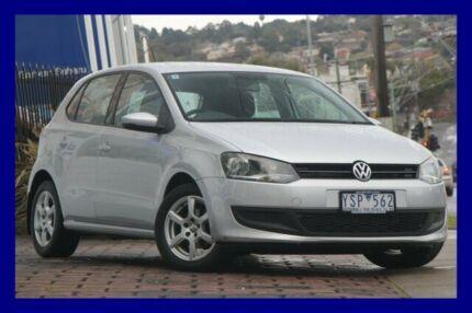 2011 Volkswagen Polo 6R MY12 66TDI Comfortline Silver 5 Speed Manual Hatchback