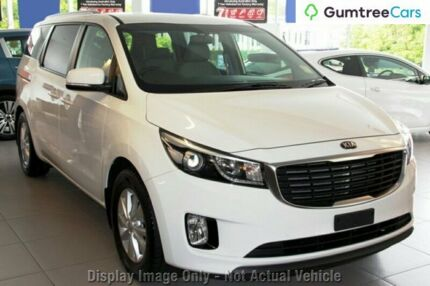 2017 Kia Carnival YP MY18 SI Clear White 6 Speed Sports Automatic Wagon