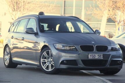 2011 BMW 320i E91 MY11 Lifestyle Touring Steptronic Grey 6 Speed Sports Automatic Wagon