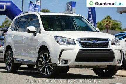 2017 Subaru Forester S4 MY17 XT CVT AWD Premium Crystal White 8 Speed Constant Variable Wagon Willagee Melville Area Preview