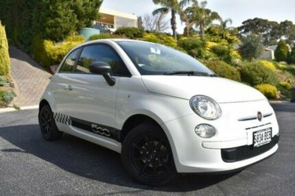 2014 Fiat 500 Series 1 S White 6 Speed Manual Hatchback St Marys Mitcham Area Preview