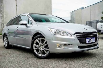 2012 Peugeot 508 Allure Touring HDi Silver 6 Speed Sports Automatic Wagon Osborne Park Stirling Area Preview