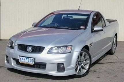 2011 Holden Ute Silver Sports Automatic Utility