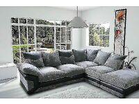 ®️Upto 40% Off Double Padde Dino Jumbo Cord Corner Or 2 + 3 Seater sofa