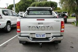2008 Toyota Hilux KUN26R MY09 SR5 Sterling Silver 4 Speed Automatic Utility