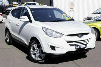 2011 Hyundai ix35 LM MY12 Active White 6 Speed Sports Automatic Wagon