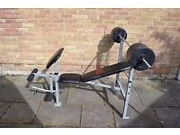 Pro-Power Weight Bench With Accessories