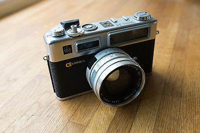Eine 35-mm-Sucherkamera