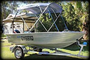 Stessco Squire Aluminium Boat Jimboomba Logan Area Preview
